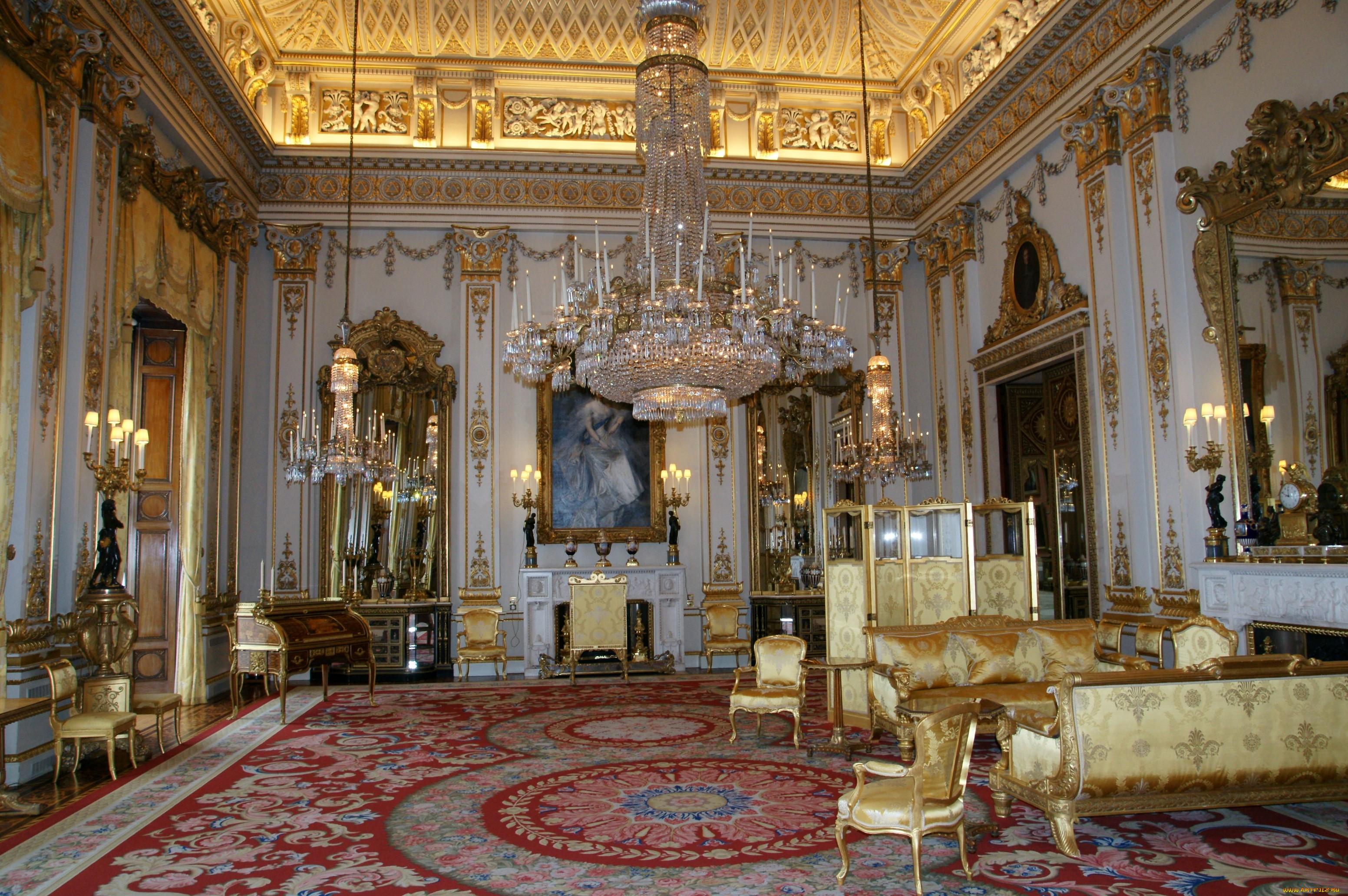 Букингемский дворец англия интерьер
